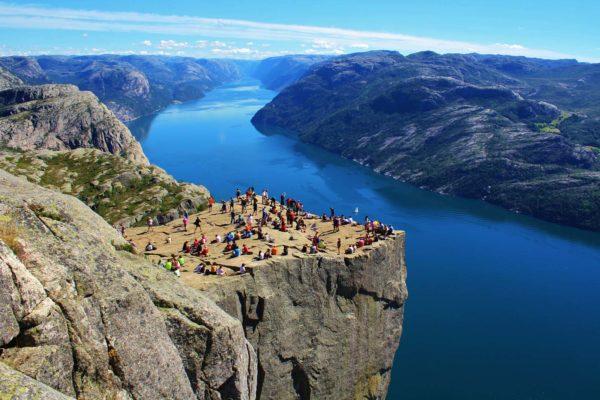 Pulpit rock Lysefjorden
